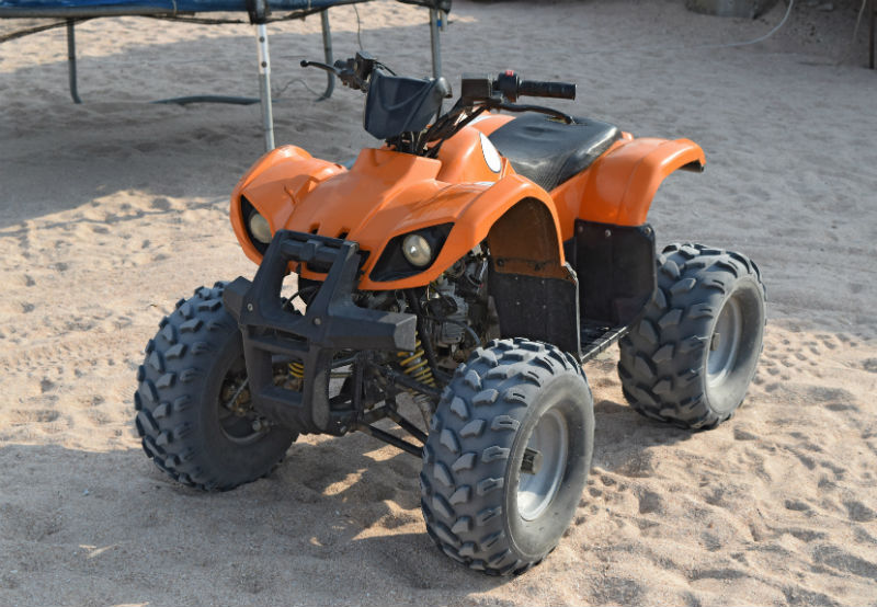 ATV Quad mit Elektromotor