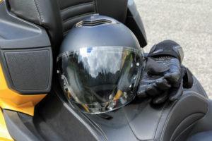 Quad mit Schutzkleidung fahren