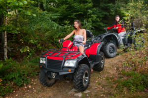 Elektro Quad als All Terrain Vehicle