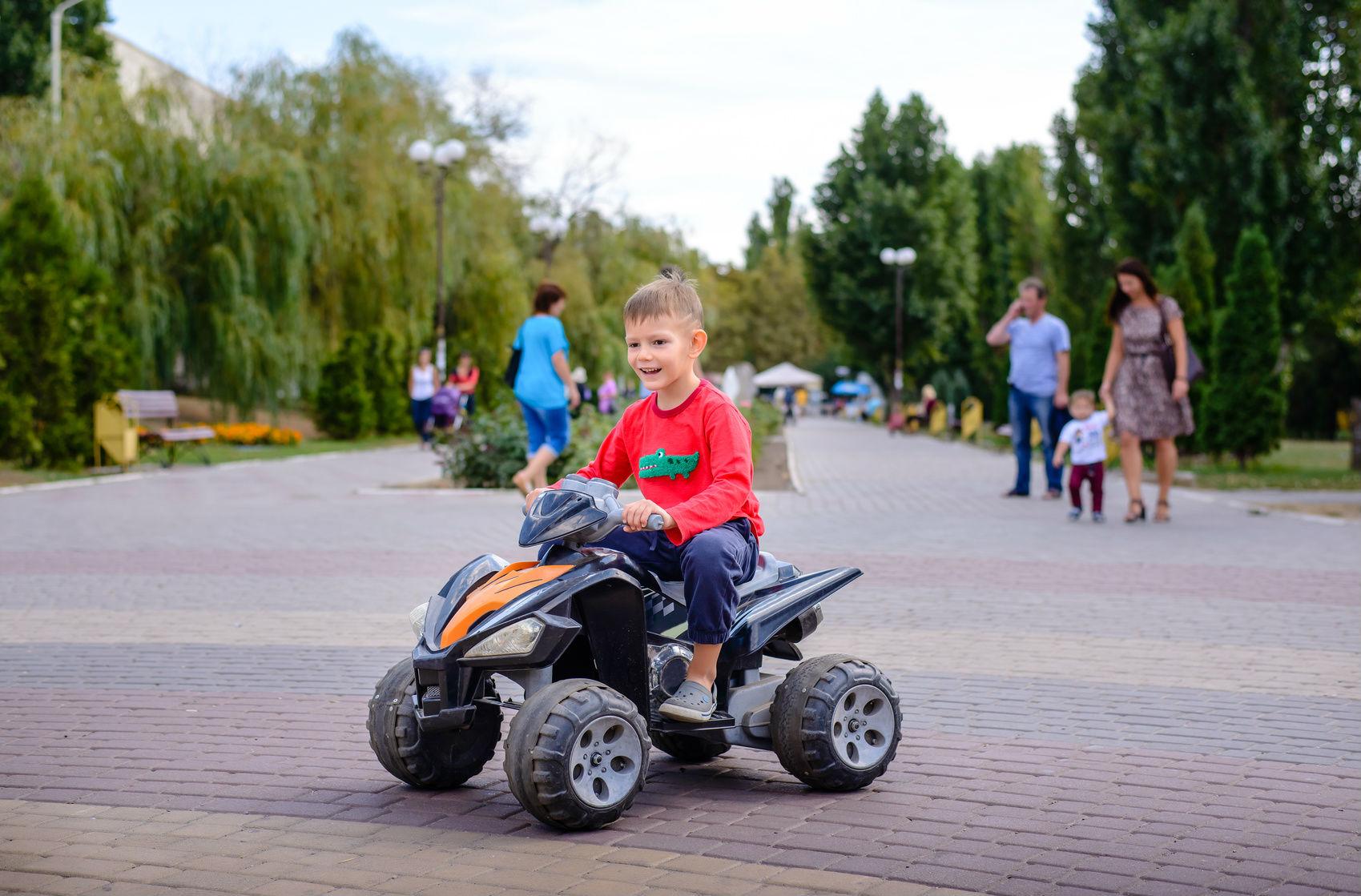 In welchem Leistungsrahmen bewegen sich Kinderquads?